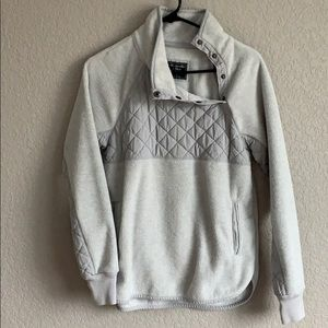 Abercrombie and Fitch Asymmetrical Snap Up Fleece